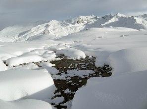 Frozen Creek Flüela Pass