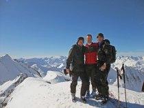 Giorgio, Dominik & Uli on Rothorn