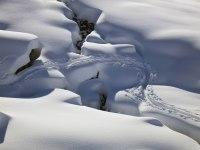 Tracks at Duranna Pass (Davos)